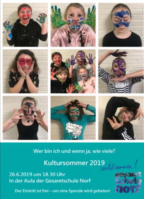 Einldung Kultursommer 2019